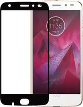 Azuri Moto Z2 Force Screenprotector Gehard Glas Zwart