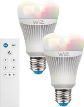 WiZ Color E27 2 Stuks met Afstandsbedieningen