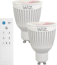 WiZ Colors GU10 2 Stuks met Afstandsbediening