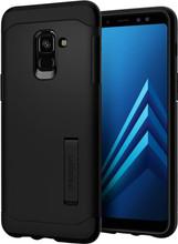 Spigen Slim Armor Galaxy A8 (2018) Back Cover Zwart