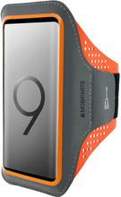 Mobiparts Comfort Fit Sportarmband Galaxy S9 Plus Oranje