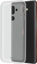 Azuri Glossy TPU Nokia 7 Plus Back Cover Transparant