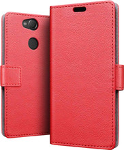 Just in Case Wallet Sony Xperia XA2 Book Case Rood