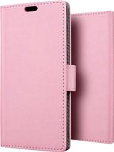 Just in Case Wallet Nokia 6 (2018) Book Case Roze