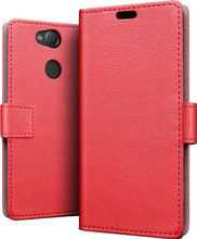 Just in Case Wallet Sony Xperia L2 Book Case Rood