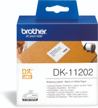 Brother DK-11202 Labels (62 mm x 100 mm) 1 Rol