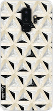 Casetastic Softcover Galaxy S9 Plus Marble Triangle Blocks