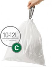 Simplehuman Afvalzak Code C Pocket Liners 10-12 Liter (60st)