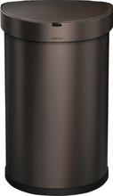 Simplehuman Semi-round Sensor Liner Pocket 45 Liter Brons