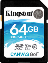 Kingston SDXC Canvas Go! 64GB 90 MB/s