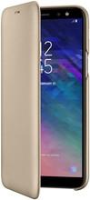 Samsung Galaxy A6 (2018) Wallet Cover Book Case Goud