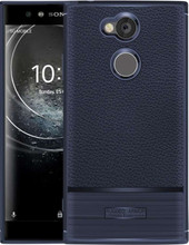 Just in Case Rugged Armor Xperia XA2 Ultra Back Cover Blauw