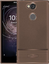 Just in Case Rugged Armor Sony Xperia XA2 Back Cover Bruin