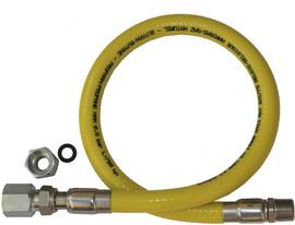 Scanpart gasslang Inox 150 cm (BE)