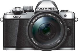 Olympus OM-D E-M10 Mark II + 14-150mm f/4-5.6 zilver