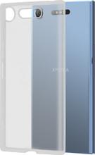 Azuri glossy TPU Sony Xperia XZ1 Back cover Transparant