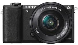 Sony Alpha A5100 + 16-50mm f/3.5-5.6 OSS zwart