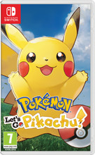 Pokemon Let's Go Pikachu Switch