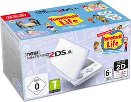 Nintendo 2DS XL + Tomodachi Life