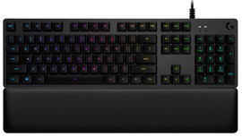 Logitech G513 Clicky Mechanical Gaming Keyboard QWERTY