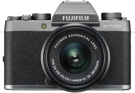 Fujifilm X-T100 Zilver + XC 15-45mm OIS PZ