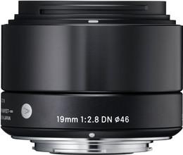 Sigma 19mm f/2.8 DN ART Sony E-mount Black