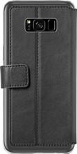 Azuri Wallet Magneet Galaxy S8 Plus Book Case Zwart