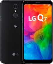 LG Q7 Zwart