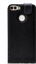 Mobilize Classic Gelly Huawei P Smart Flip Case Zwart