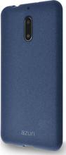 Azuri Flexible Sand Nokia 6/6 Arte Back Cover Blauw