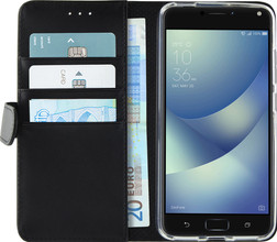 Azuri Wallet Magneet Zenfone 4 Max 5.2 Book Case Zwart