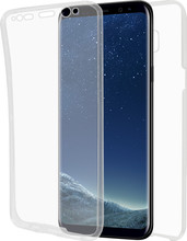 Azuri TPU Ultra Thin Galaxy S8 Full Body Transparant