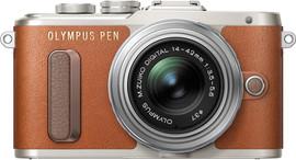 Olympus PEN E-PL8 + 14-42mm 1:3:5-5,6 EZ Bruin