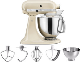 KitchenAid Artisan Mixer 5KSM175PS Amandelwit