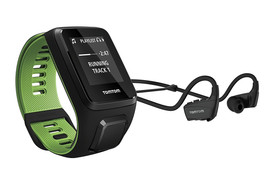 TomTom Runner 3 Cardio + Music + HP Black/Green - L