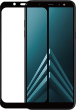 Azuri Galaxy A6 Plus (2018) Screenprotector Gehard Glas Duo