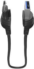 Lifeproof Lanyard Micro USB Kabel 40 Centimeter Zwart