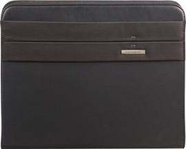 Samsonite Stationery Spectrolite 2 Zip Folder A4 Top H Black