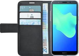 Azuri Wallet Magneet Huawei Y5 (2018) Book Case Zwart