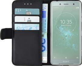 Azuri Wallet Magneet Xperia XZ2 Compact Book Case Zwart