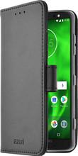 Azuri Wallet Magneet Moto G6 Plus Book Case Zwart