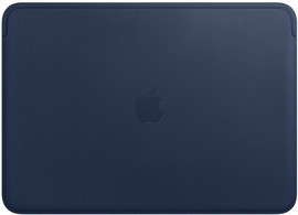 "Apple MacBook 13"" Leather Sleeve Midn Blue"