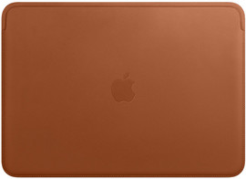 "Apple MacBook 13"" Leather Sleeve Sad Brown"