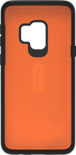 GEAR4 Battersea Galaxy S9 Back Cover Zwart/Oranje