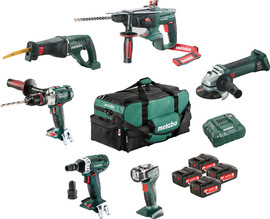 Metabo Combiset: Bouw & Renovatie - 6 machines