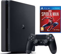 Sony PlayStation 4 Slim 1 TB Spider Man Bundel