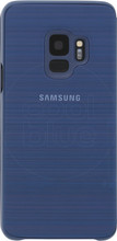Samsung Galaxy S9 LED View Cover Blauw