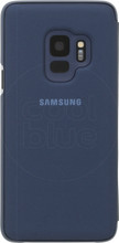 Samsung Galaxy S9 Clear Stand View Cover Blauw