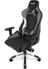 AKRACING Gaming Chair Master Pro - PU Leather Grijs