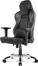 AKRACING Gaming Chair Office - PU Leather Obsidian / Carbon